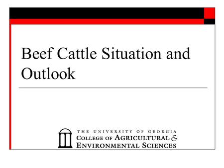 Beef Cattle Situation and Outlook. 1.39 million tons.