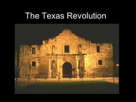 The Texas Revolution. Westward Movement American settlers poured westward from the coastal states into the Midwest, Southwest, and Texas, seeking economic.