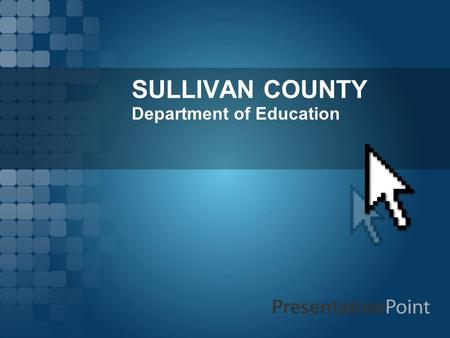 SULLIVAN COUNTY Department of Education. SCDE  Page 2 Why Consider Rezoning?  Concern: -Enrollment Decline, Annexation, Budget Deficit  Desired Result: