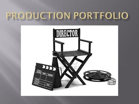 TECHNICAL REQUIREMENTS Each candidate must submit a production portfolio worth 50% of their IB grade, consisting of:  Film Written Commentary  Rationale.