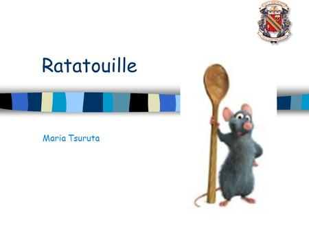 ratatouille sound film analysis A lot of animated movies have inspired sequels, notably shrek, but brad bird's ratatouille is the first one that made me positively desire one remy, the earnest little rat who is its hero, is such a lovable, determined, gifted rodent that i want to know happens to him next, now that he has conquered the summit of french cuisine.
