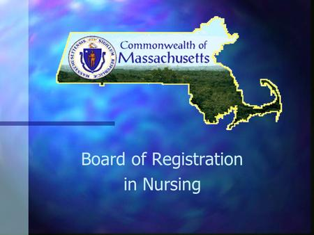 Board of Registration in Nursing. Module: Competence: A Legal Requirement to Licensed Nursing Practice.