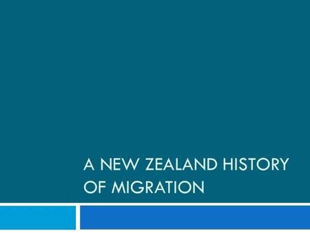 A NEW ZEALAND HISTORY OF MIGRATION. The first immigrants to New Zealand  Polynesians were the first immigrants to New Zealand in the late 1200s defining.