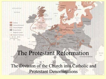 the spread and division of the protestant reformation Protestant reformation the protestant reformation was a major 16th century european movement aimed initially at reforming the beliefs and practices of the roman catholic church  its religious aspects were supplemented by ambitious political rulers who wanted to extend their power and control at the expense of the church.
