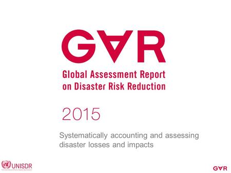 Systematically accounting and assessing disaster losses and impacts.