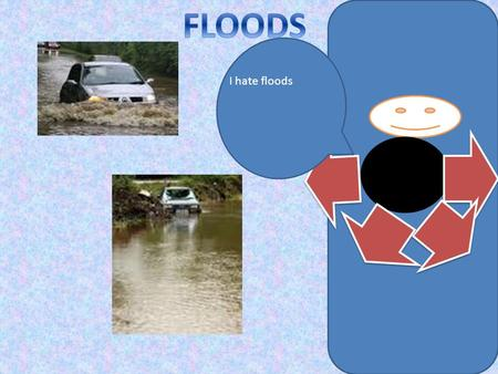 I hate floods. Flooding is when the water level in a creek, river, lake or the sea rises and covers land that is usually dry. Whilst some floods occur.