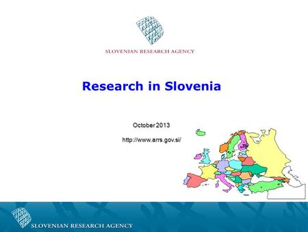 Research in Slovenia October 2013