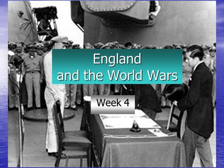 England and the World Wars Week 4. Review Queen Victoria New Imperialism Serbia and WWI German Loss/ German Dominance.