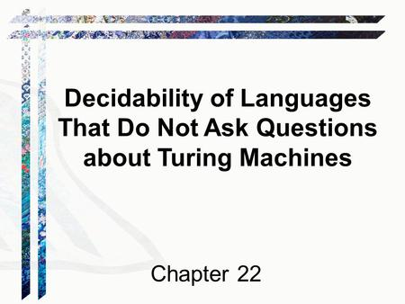 church-turing thesis turing machines