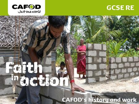 a description of cafod as the catholic agency for overseas development The church was open and was bedecked with flowers of every description  overseas development agency of the catholic  cafod, the catholic agency for overseas.