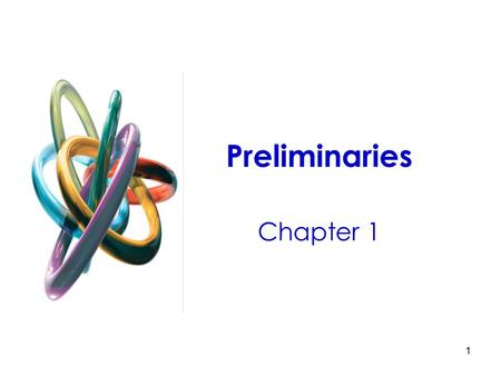 1 Preliminaries Chapter 1. 2 ● Microeconomics: Branch of economics that deals with the behavior of individual economic units—consumers, firms, workers,