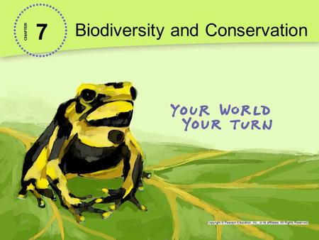 7 Biodiversity and Conservation CHAPTER. Lesson 7.3 Protecting Biodiversity Just 2.3% of the planet's land surface is home to 50% of the world's plant.