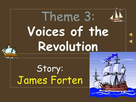 Theme 3: Voices of the Revolution