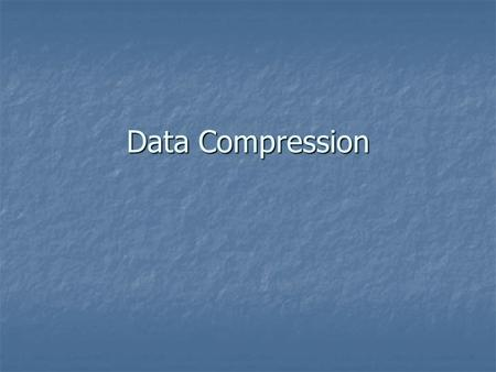 Data Compression. How File Compression Works If you download many programs and files off the Internet, you've probably encountered ZIP files before. This.