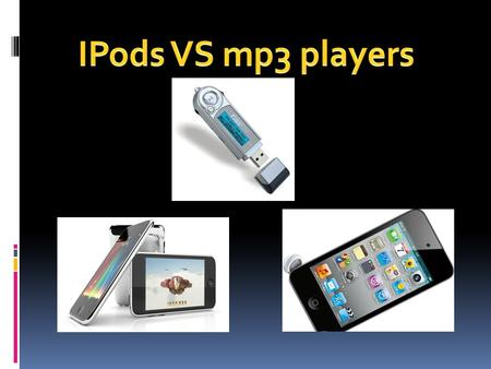  The iPod is a portable music player developed by Apple Computer. Though it is an Apple product, the iPod can be used with both Macs and PCs.