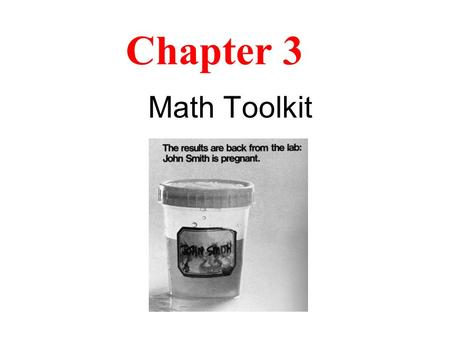 Chapter 3 Math Toolkit. 3-1 Significant Figures The number of significant figures is the minimum number of digits needed to write a given value in scientific.