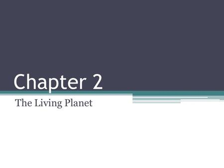 Chapter 2 The Living Planet. The Solar System Solar System: consists of the sun, eight planets, other celestial bodies, comets and asteroids Comedy Strip: