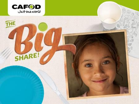 Www.cafod.org.uk. Thank you for joining the Big Share! Let's take a look at some popular food from around the world.
