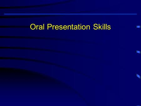 Oral Presentation Skills. Outline for Presentation P lanning P reparation P ractice P erformance Q uestions.
