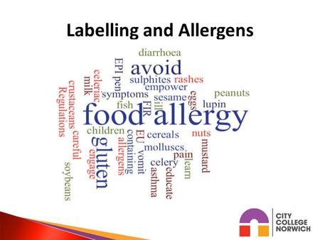 Labelling and Allergens. Food Labelling What is the Food Information for Consumers Regulation (EU FIC)?