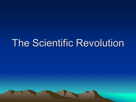 "The Scientific Revolution. The Aristotelian Universe Derived from Ptolemy, Aristotle, and Plato Classical Writings ""Christianized"" Medieval Cosmology."