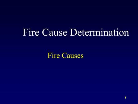 1 Fire Cause Determination Fire Causes. 2 Hot Water Heaters Electric water heaters almost never cause fires. One of the most common ignition sources of.