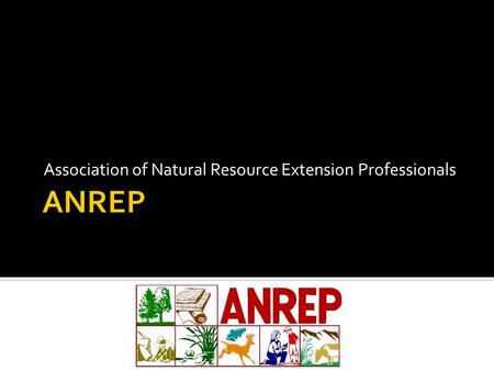 Association of Natural Resource Extension Professionals.