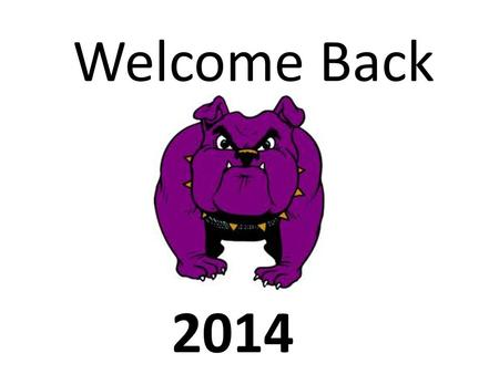 Welcome Back 2014. 1 st Semester Make-up Exams January 14 th, 15 th and 16 th Testing Center, 4:00-5:30.