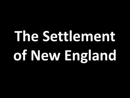 how did religious dissent shape the history of the new england colonies Historical analysis of religion in new england puritans & pilgrims  the  pilgrims who settled plymouth colony were part of a faction known as  were  bound to suffer the repercussions inherent in their decision to persecute  dissenters and.