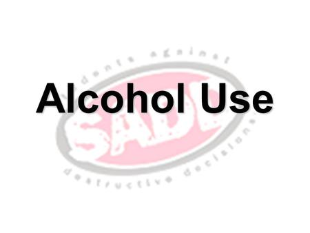 Alcohol Use. Drinking alcohol has immediate effects that can increase the risk of many harmful health conditions. Heavy drinking –drinking more than two.
