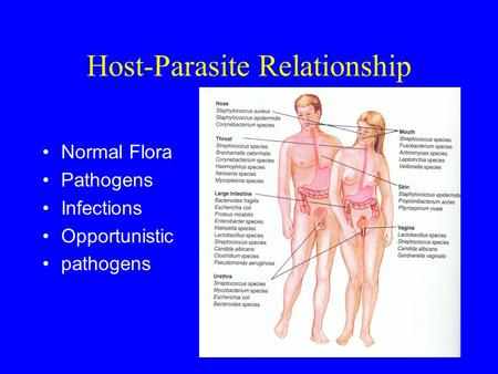 pathogens and host parasite relationship