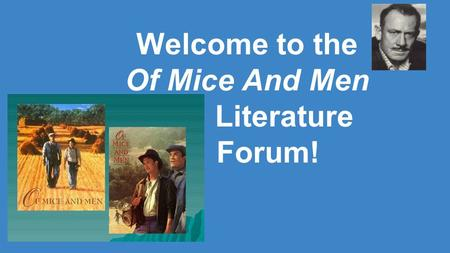 an essay on of mice and men by john steinbeck