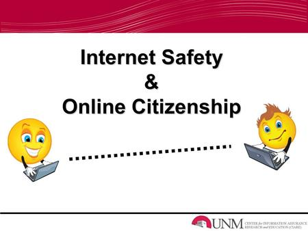 Internet Safety & Online Citizenship