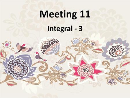 Meeting 11 Integral - 3.