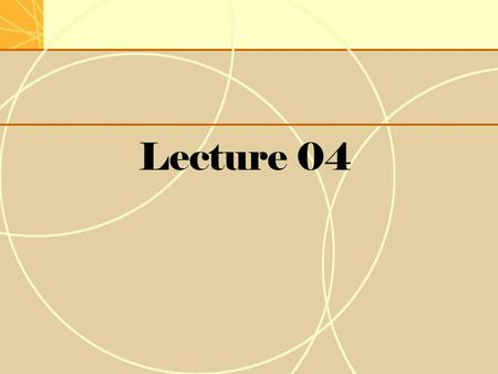 Lecture 04. Lecture Review  Theories of International Business  International Business Methods  International opportunities  Exposure to International.