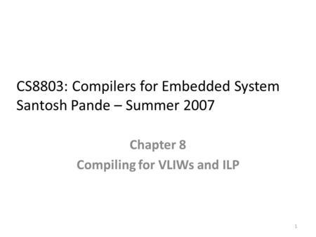 compiler in embedded system pdf