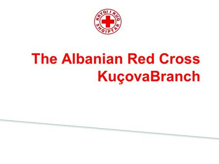 The Albanian Red Cross KuçovaBranch. Henry DUNNANT Founder of the Red Cross.