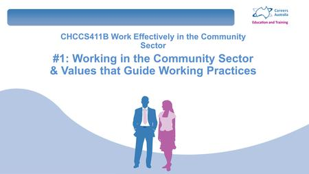 work effectively in the community sector It seems that there is a hybrid kind of supervision that occurs in the community mental health sector pathway 8 – supervision, mentoring & coaching to work.