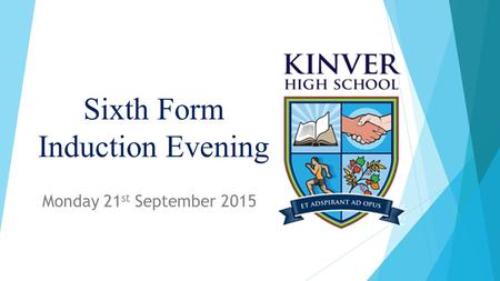 Sixth Form Induction Evening