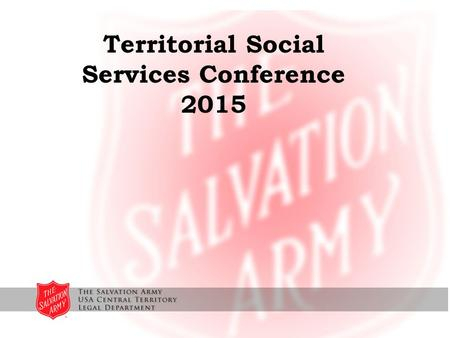 Territorial Social Services Conference 2015. EO 13672 Modifies Executive Order 11246 which prohibited discrimination by federal government contractors.