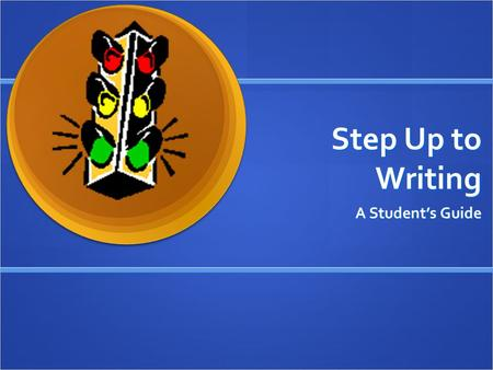 Step Up to Writing A Student's Guide. Expository Paragraphs Explain, Show, Inform or Prove Need a Title Need a Title Have a topic sentence Have a topic.