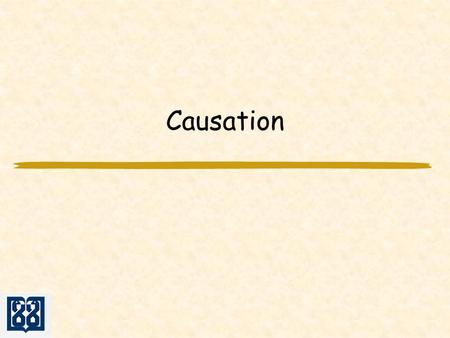 Causation. Associations may be due to Chance (random error) statistics are used to reduce it by appropriate design of the study statistics are used to.