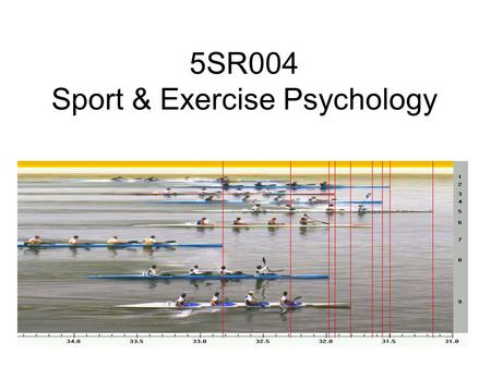 5SR004 Sport & Exercise Psychology. Aims for the session Link the cognitive, behavioural and humanistic approach to psychology Identify the benefits of.