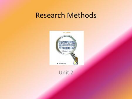unit 2 research methods thinking critically with psychological science answers