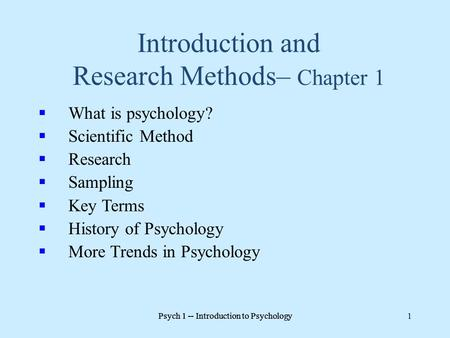 What is sampling in research methodology