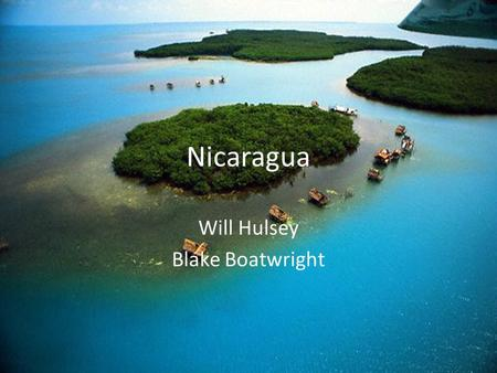 Nicaragua Will Hulsey Blake Boatwright. Flag The triangle represents equality. The top and bottom stripes are of blue color and represents the Pacific.