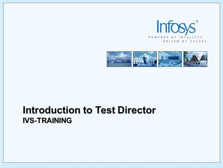 Introduction to Test Director
