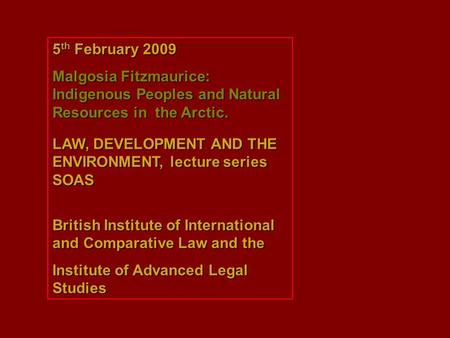 the evolution of international environmental law iel essay The evolution of international law milena sterio follow this and additional works at:  environmental law, labor law, trade regulations, antitrust, health, and.