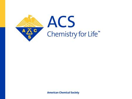 American Chemical Society Lowering Activation Energy for ACS Student Chapters Recruiting Members.