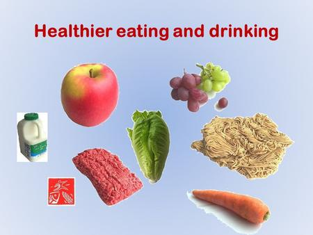 Healthier eating and drinking. Healthy eating doesn't have to be boring or avoiding all your favourite foods. In fact, the first of rule of healthy eating.